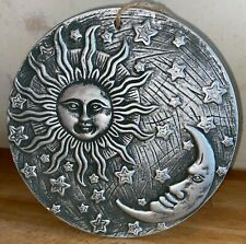 Latex Mould for making this Lovely Sun and Moon plaque