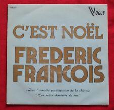 Frederic François, c'est Noel, SP - 45 tours import