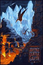 Journey To The Center Of The Earth Laurent Durieux SIGNED Ltd /265 Print Poster