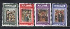 MALAWI Christmas 1977 (Religious Art) MNH set
