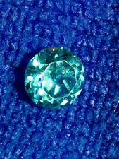 (1) NATURAL SANTA MARINA BLUE AQUAMARINE ROUND SHAPE GEMSTONE 8mm