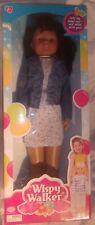 Uneeda Wispy Walker Walk With Me African American Doll New In Package