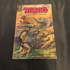 Gold Key Tragg and the Sky Gods Comic Book #2 Sept 1975 Collector Craft Recycle