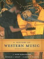 A History of Western Music [Hardcover]