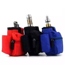 E Cigarette Case Vapor Holder Pocket Bag Carrying Mod Liquid Cig Double Deck