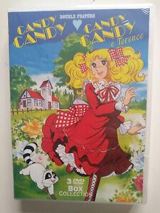 Candy Candy Box Collection (3 DVD) - ITALIANO ORIGINALE SIGILLATO -