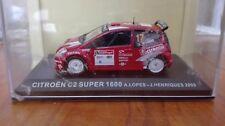 CITROËN C2 SUPER 1600 LOPES HENRIQUES RALLY DE  PORTUGAL 2005 IXO 1/43