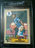 1987 TOPPS #170 BO JACKSON ROOKIE CARD RC RAIDERS KANSAS CITY ROYALS MINT