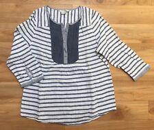 Tunika Blusen Shirt von Boden Gr. 36 - UK 10 Maritim Gestreift