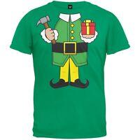 Elf Body Green Costume Adult Mens T-Shirt