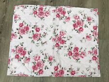 SIMPLY SHABBY CHIC LAVENDER ROSES STANDARD SHAM, COTTAGE, COUNTRY