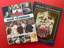 (3) 2001& 2008 Cleveland Indians Official Yearbooks & 1973 Indians Media Guide.