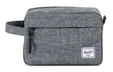 Herschel Chapter Travel Kit Kosmetiktasche Tasche Raven Crosshatch Grau
