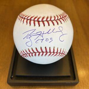 "Roy Halladay Signed Autographed Major League Baseball ""CY 03"" PSA COA Phillies"