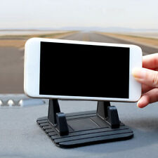 1x Black Car Dashboard Phone Holder Non-slip Pad Mount Stand Support Accessories (Fits: Charger)