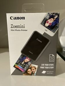 Canon Zoemini Photo Portable Printer - Black