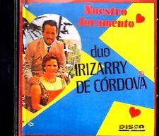 "DUO IRIZARRY DE CORDOVA - "" NUESTRO JURAMENTO"" - - CD"