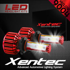 XENTEC LED HID Headlight Conversion kit 9004 HB1 6000K 1986-1987 Mercury Lynx