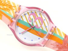 "SWATCH: JELLY IN JELLY ""LINE PALM"" CALIFORNIA *NEU / SELTEN / PASTELL!*"