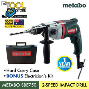 METABO 2 SPEED IMPACT DRILL - Tool Only