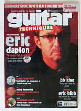 Guitar Techniques Magazine: September 1999, Eric Clapton, Thin Lizzy...Etc.