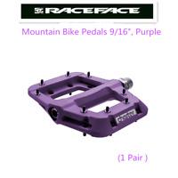 "Race Face Chester Platform Mountain Bike Pedals 9/16"",Purple"