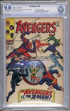 Avengers #53 CBCS VF/NM 9.0 Captain America Thor Iron Man