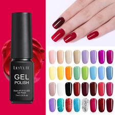 146Colores LILYCUTE Smalto Gel UV Semipermanente Unghie Soak off Nail Art UV Gel