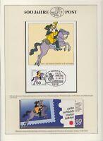 """Bund - Offizielles Markenheftchen der """"CARITAS"""" Postillion - 1989 (Wohlfahrt) !!"""