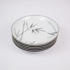 "Noritake China Bambina 7.5"" Soup Bowl 6 pc Vintage Fine China Set"