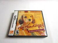 Nintendo DS Nintendogs Dachshund & Friends Complete Game