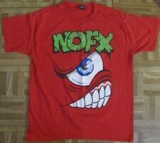 Rare VTG NOFX Mons-Tour Japan 1995 L Shirt
