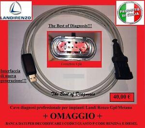 Cavo diagnosi usb Professionale per centraline Gpl/Metano Landi Renzo