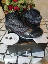 Air Jordan Retro 23 XXIII 2008 Black Varsity Red Stealth  Sz 12 Authentic