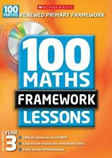 100 New Maths Framework Lessons for Year 3,Ann Montague-Smith, Ann Morgan, Gary