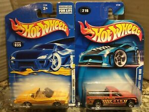 HOT WHEELS/ 2001#035 FIRST EDITION (MONTEZOOMA)/2003#216 1996 CHEVY 1500.