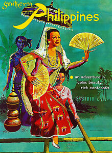 Southern Philippines - Travel Advertising Poster