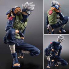 Anime Naruto Action Figures  Hatake Kakashi Anime PVC Brinquedos Toy Figure N B