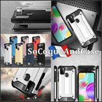 Etui Coque Protection Antichoc Shockproof Hybride Case Cover Samsung Galaxy A21s