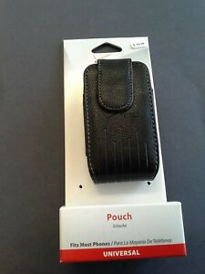 Original Verizon Leather Standing Pouch with Magnetic Clip for Flip Phones