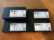 More details for genuine hp 950 951 setup cartridges - black magenta cyan yellow - used - 2 empty