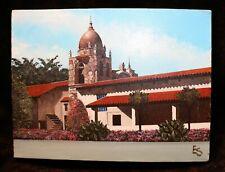 "Original Oil Painting by Eugene Smith of Santa Barbara 9x12"" Carmel CA Mission"