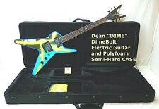 Dean Dimebag Darrell Lightning Bolt Baby ML DFH Guitar & CASE  DIMEBOLT NOS SALE