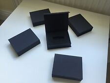 1x Black USB Gift Presentation Box Packaging with Foam Insert SECONDS / B GRADE
