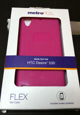 MetroPCS Phone Case for HTC Desire 530 Flex Gel case Purple