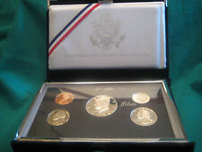 1998 United States Mint Premier Silver Proof Set with Original Packaging and COA