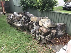 sandstone blocks .Various Sizes Ex Federation House .  10 Lineal Metre Lots.