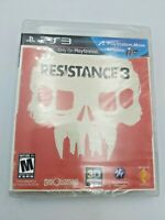 Resistance 3 (Sony PlayStation 3, 2011)  Brand New Free Shipping