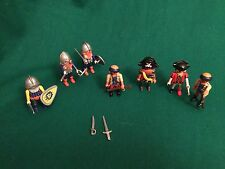 Playmobil bundle of pirates and knights