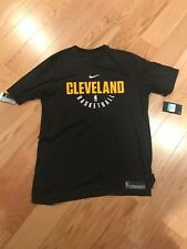 Nike Dry NBA Cleveland Cavaliers Player Practice Jersey Black Size XL BNwT